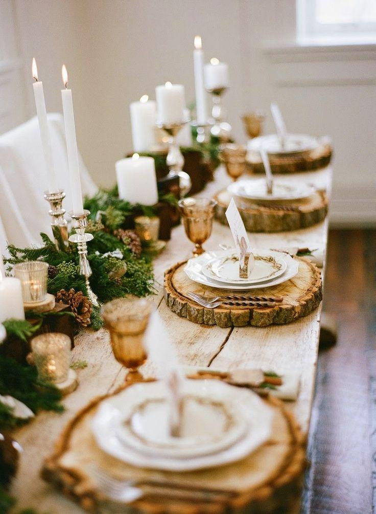 Ideas para decorar la mesa navideña - Catering L\'Empordà