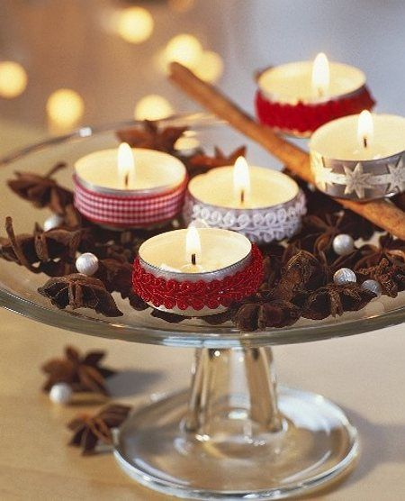 Ideas para decorar la mesa navidea Catering LEmpord
