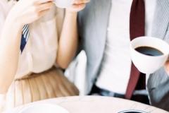 Desayunos post boda café pareja