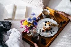 Desayunos post boda cama