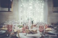Ideas para decorar una boda en otoño mesa