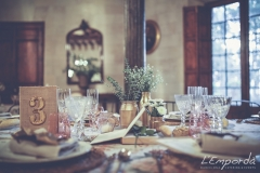 Ideas para decorar una boda en otoño Santa Margarita Catering Empordà banquete