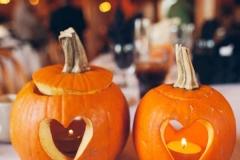 Ideas para decorar una boda en otoño calabazas