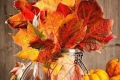 Ideas para decorar una boda en otoño centro de mesa