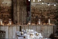 Ideas para decorar una boda en otoño luces