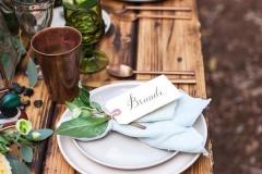 Ideas para decorar una boda en otoño seating