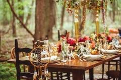 IIdeas para decorar una boda en otoño mesa