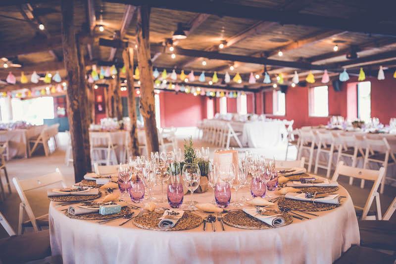 Tipos de mesas para bodas y eventos Catering lEmpord