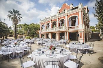 Banquete de boda en un catering Barcelona