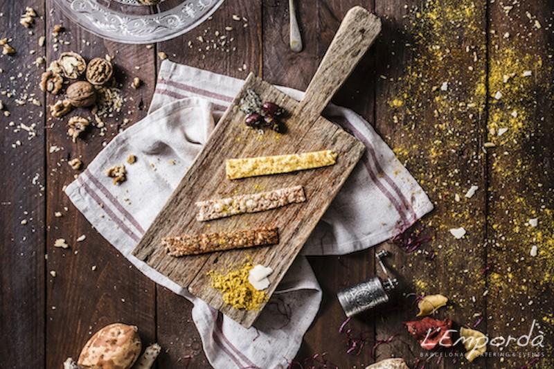Sticks de parmesano