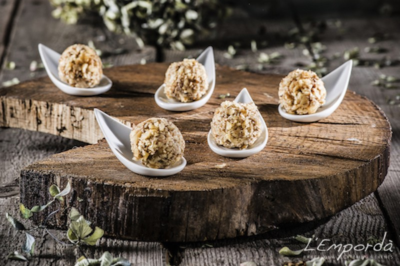 Ferrero Rocher de foie