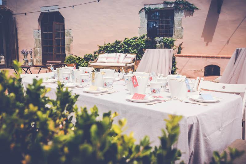 Tipo de mesas para bodas y eventos