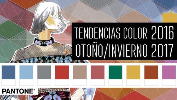 Colores Pantone Otoño Invierno 2016 - 2017