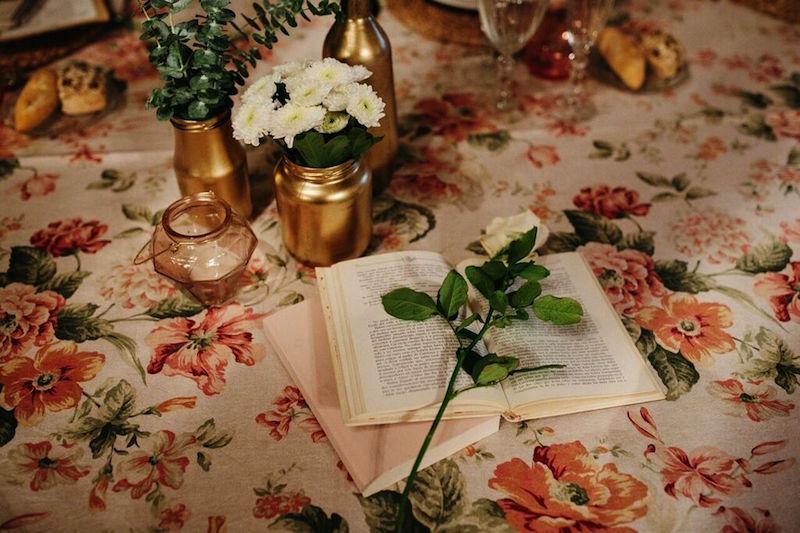Greenery, rosa y dorado