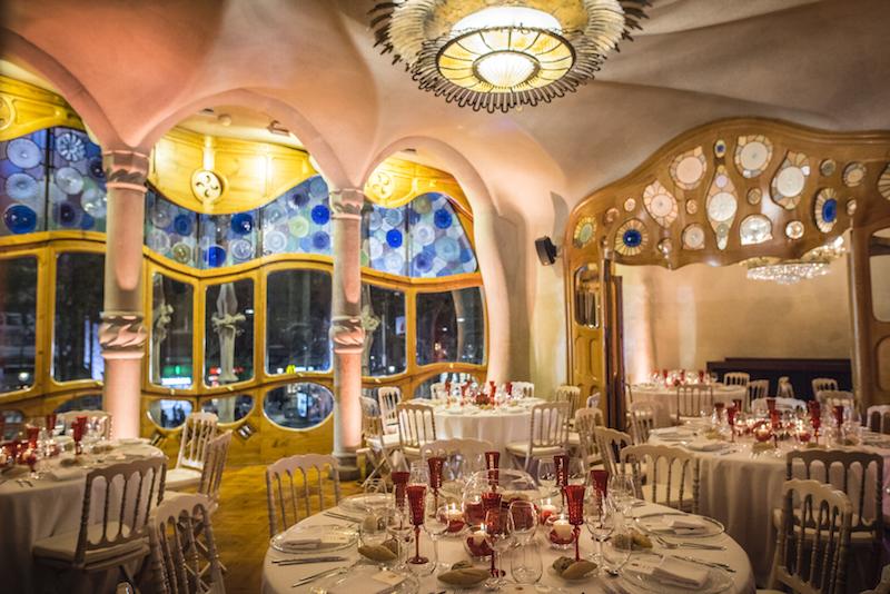 Cena de gala en Casa Batlló