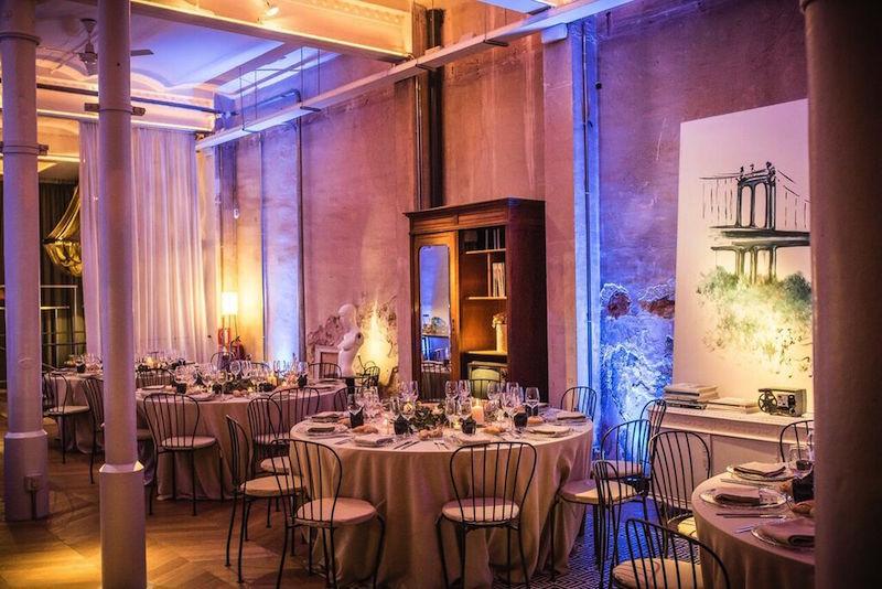 Cena de gala en Brooklyn Loft