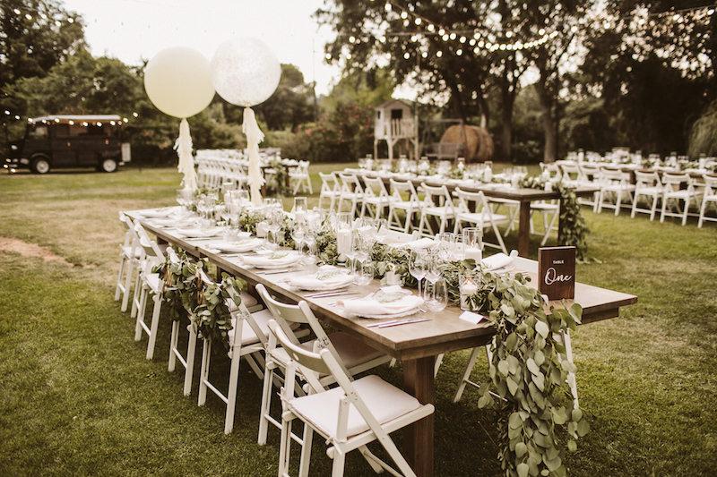 Boda banquete en Mas Isern