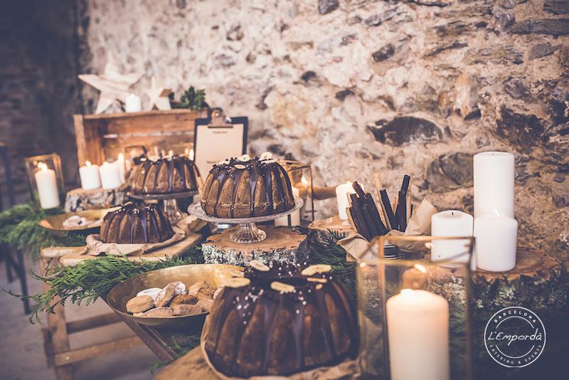 Cómo decorar una mesa de Navidad (o un buffet) 23