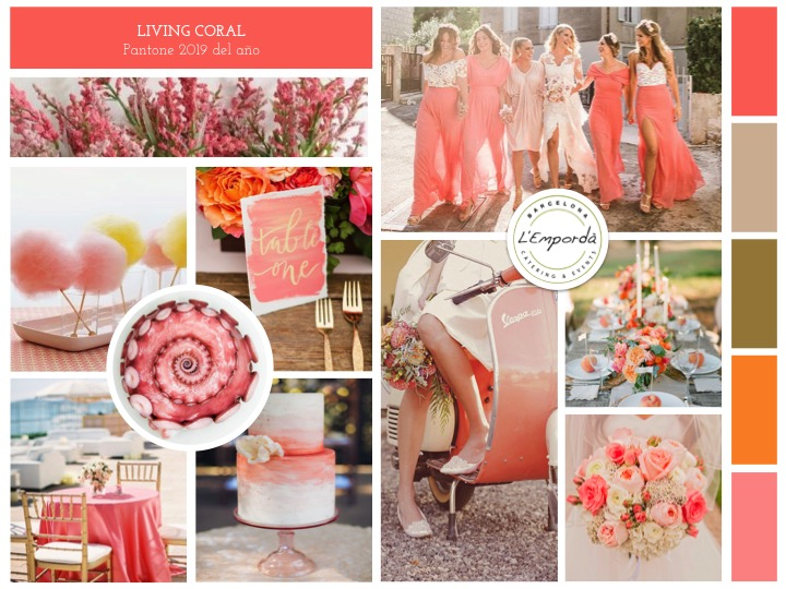 Living Coral Mood Board
