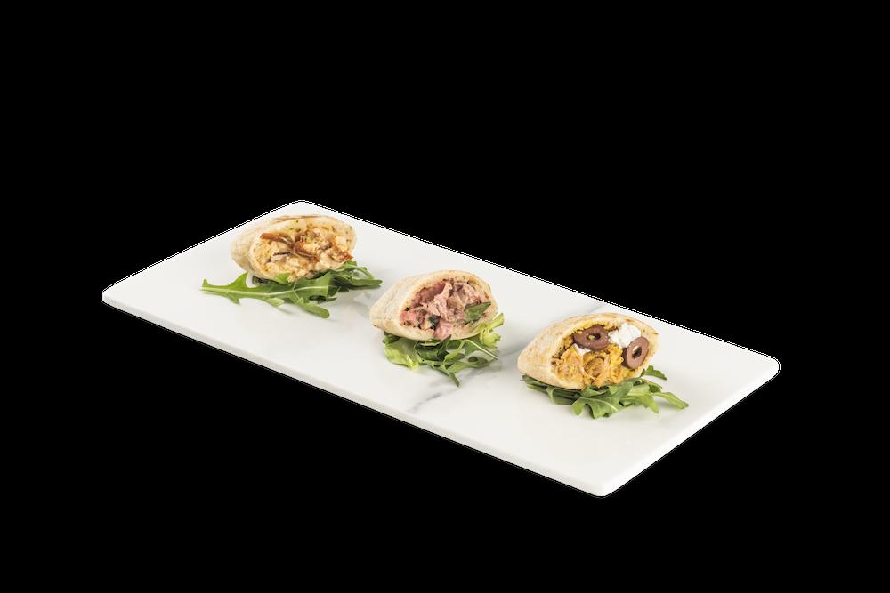 Pollo braseado al estilo cajún – Roast beef a la miel de mostaza – Cordero con toques griegos – Verduras con salsa Tártara