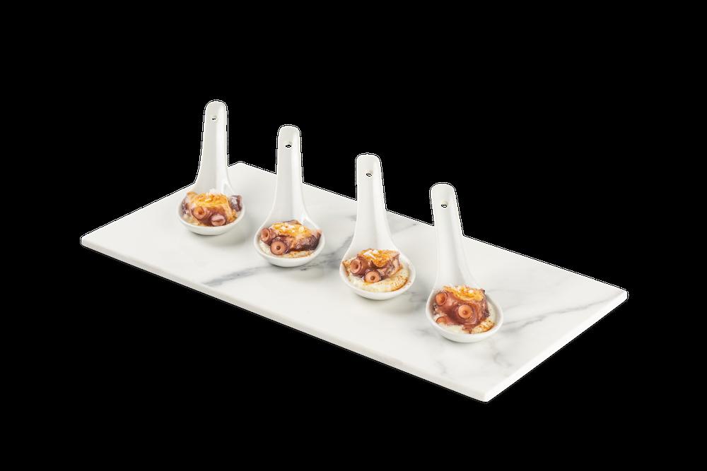 Pulpo gallego con parmentier de patata